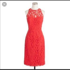 J.Crew Collection poppy lace dress